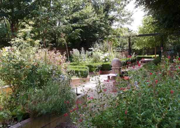 View of the garden, Vestry House Museum, London, August 2013, Photo Slawek Kozdras for Contemporary Lynx