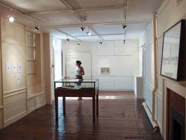 "Display view,""A tourist in other people's reality"" exhibition by Cecilia Bonilla, Sława Harasymowicz and Joanna Rajkowska, Vestry House Museum, London, August 2013, Photo Slawek Kozdras for Contemporary Lynx"