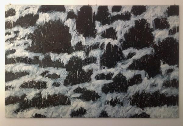 Leon Tarasiewicz, Waves (diptych), courtesy Dr Werner Jerke