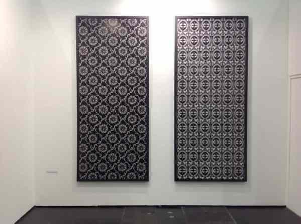 Zofia Kulik, Le Guern Gallery, booth D15, photo Contemporary Lynx