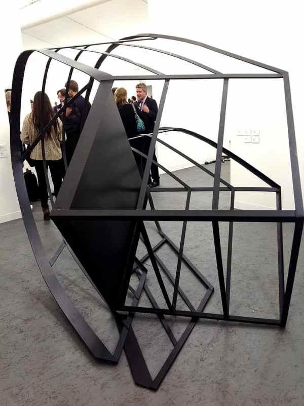 Monika Sosnowska, The Modern Institute, Stand C9 , photo Contemporary Lynx