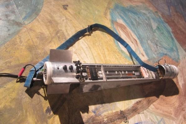 Bomb 2003, Konrad Smoleński Audio object, 102cm x 20cm x 20cm, photo Miseongoa Shin, 2013