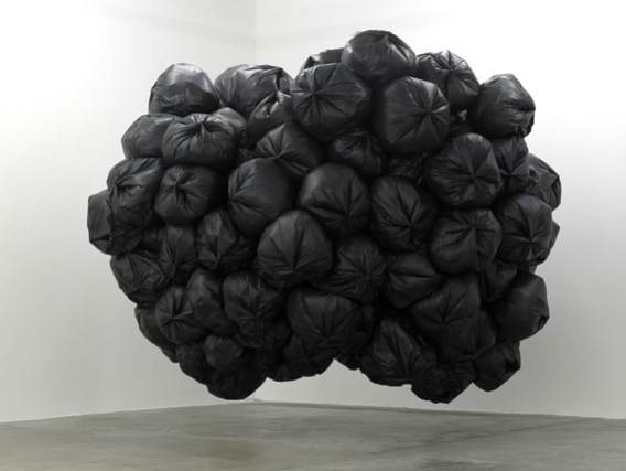 Dorota Buczkowska, Infection, plastic + helium, 500 x 400 cm, Centre Régional d'art Contemporain, Sete, France, 2008