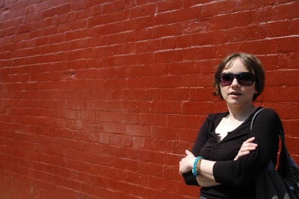 Agnieszka Kulazińska curator for the Centre for Contemporary Art Laznia, Gdańsk, photo courtesy J.-Biela-Garrido