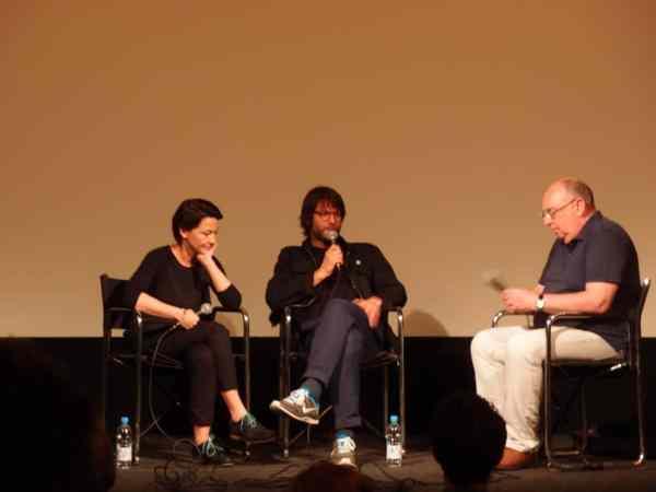 Anka and Wilhelm Sasnal, Q&A, ICA London, Aleksander documentary, screening May 2014,