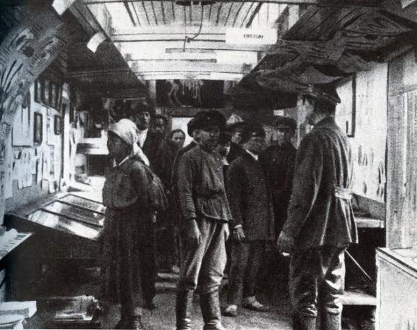 Agitprop train, 1920
