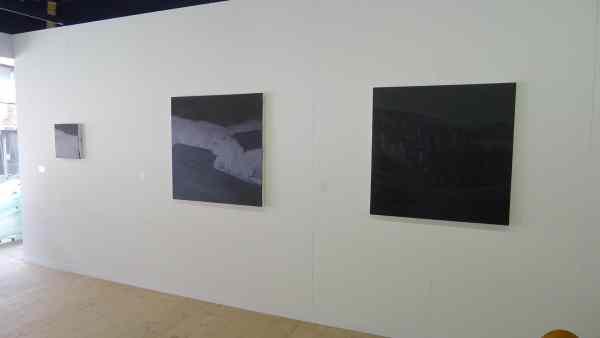 Rafał Bujnowski, from the Nocturne series, 2014, oil on canvas, Raster Gallery, Booth 0/10/1, photo Andrzej Szczepaniak for Contemporary Lynx
