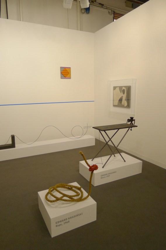 Edward Krasiński, Henryk Stażewski, Starmach Gallery, Hall 2.0 / C1, photo Andrzej Szczepaniak for Contemporary Lynx