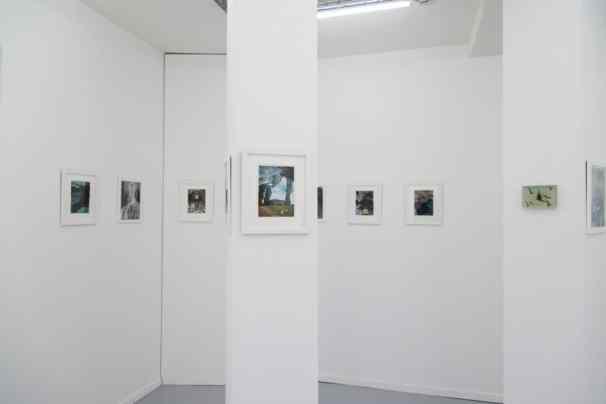 "Przemek Matecki and Pierre Ardouvin, ""Isn't it good to be lost in the wood"", Progress Gallery, Paris 2014, photo Woytek Konarzewski"