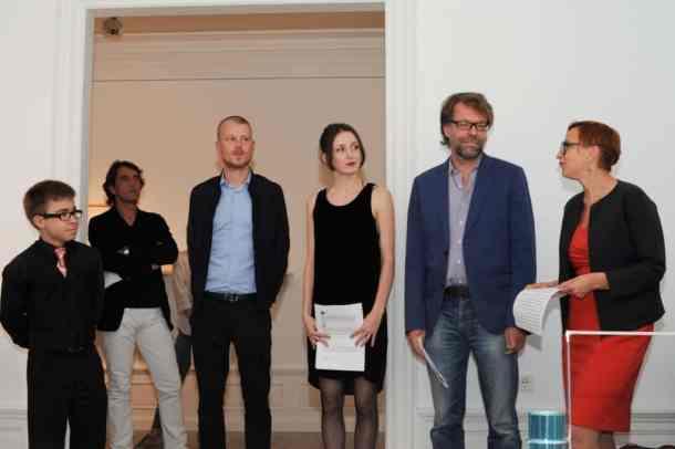 Krystian Truth Czaplicki Photo from the opening: A Displaced House, Polnisches InstitutDüsseldorf, photo Adam Grabolus, courtesy the artist and BWA Warszawa