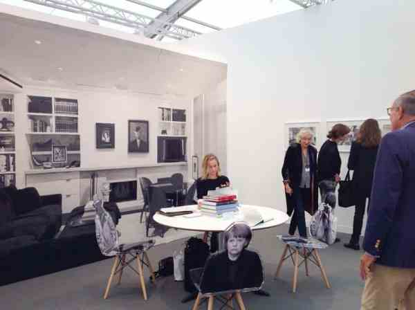 Goshka Macuga, Kate McGarry Gallery at Frieze London, October 2014, photo Contemporary Lynx