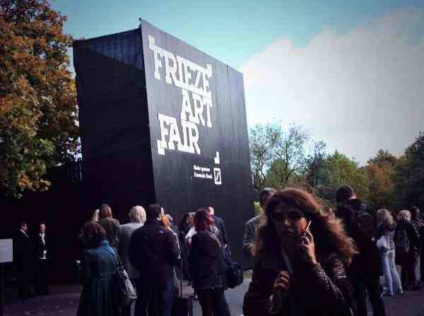 Frieze London, October 2014, photo Contemporary Lynx