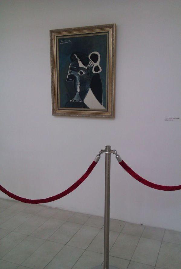 """Pablo Picasso, """"Portrait of a Woman"""", photo M. Ziółkowska"""