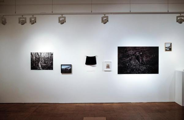 Sputnik Photos, exhibition view: 'Hunter' at the Derby Museum and Art Gallery in Derby, FORMAT International Photography Festival 2015, photo Michał Łuczak
