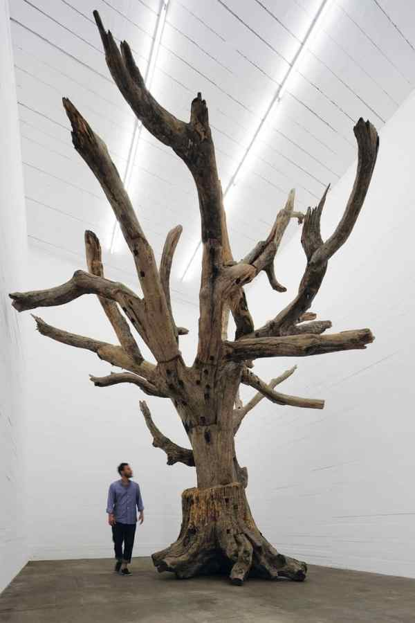 Ai Weiwei, Tree, 2009-2010, Photo. NOSHE, Gallery Weekend Berlin, 2015, Boros Collection / Bunker
