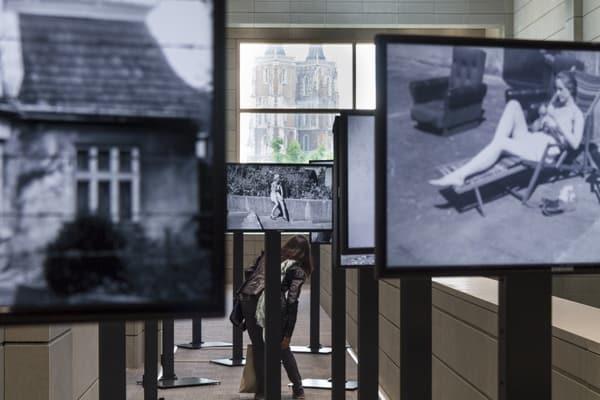 Agata Kus (PL), Mistress, multi-channel video installation, 2014, photo Contemporary Lynx, The 16th Media Art Biennale WRO, Wrocław, 2015
