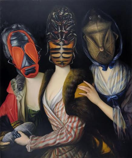 Ewa Juszkiewicz, Sisters, 2014, oil on canvas, 142 x 116cm, courtesy of the artist