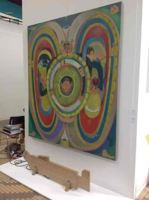 Tomasz Kowalski, Dawid Radziszewski Gallery, Liste, The Young Art Fair in Basel, photo Contemporary Lynx