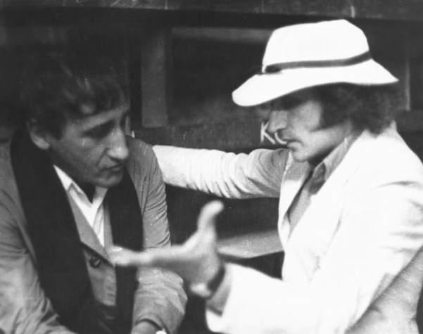Tadeusz Kantor and Richard Demarco, photo