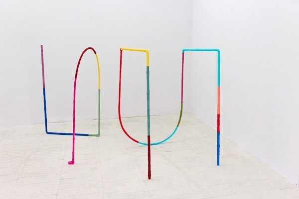 Alicja Bielawska Excercises for Two Lines, 2014 photo by Bartosz Górka courtesy of the artist and Starter Gallery, Warsaw