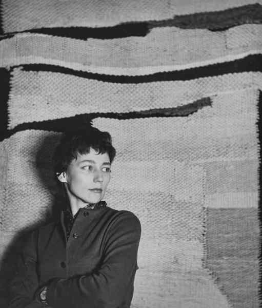 Magdalena Abakanowicz, 1960s, photo artist's archive