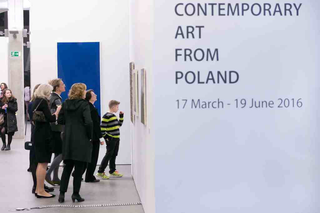 Contemporary Art from Poland, exhibition view, 17 March - 19 June 2016, photo courtesy European Central Bank