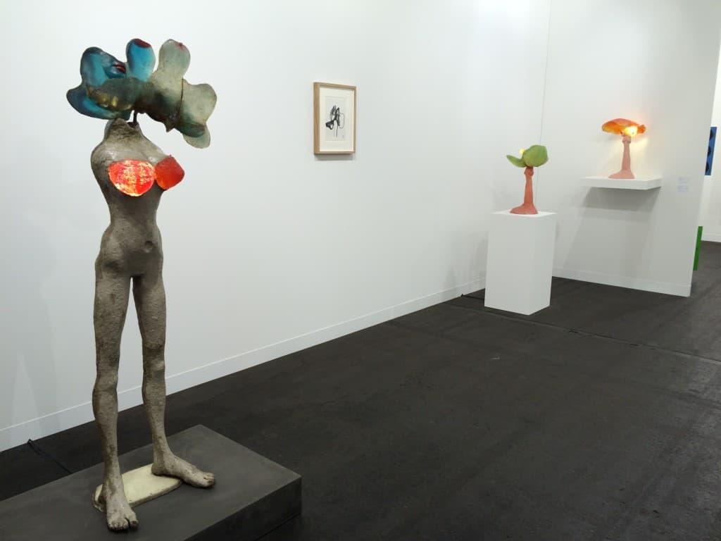 Alina Szapocznikow, Art Basel 2016, photo Contemporary Lynx