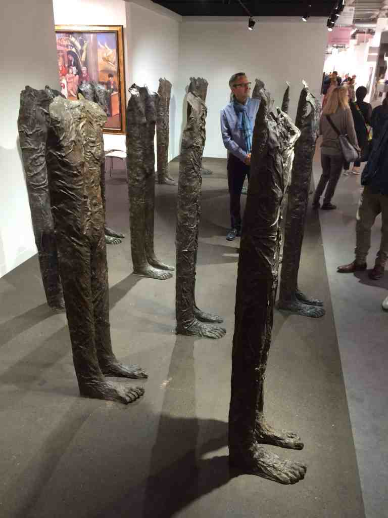 Magdalena Abakanowicz, Marlborough Fine Art, Art Basel 2016, photo Contemporary Lynx