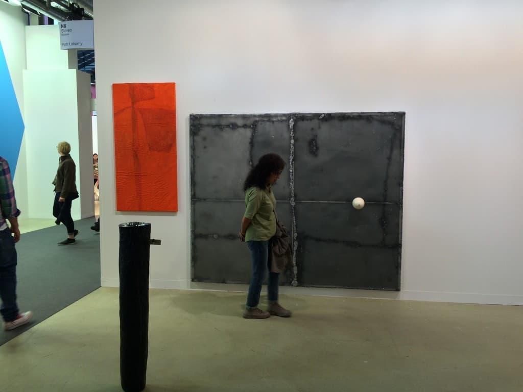 Piotr Łakomy, Art Basel 2016, photo Contemporary Lynx