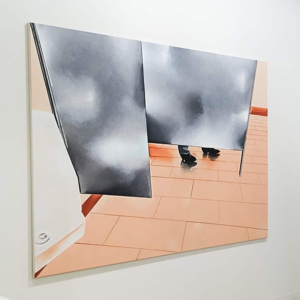 Wilhelm Sasnal, Art Basel 2016, photo Contemporary Lynx