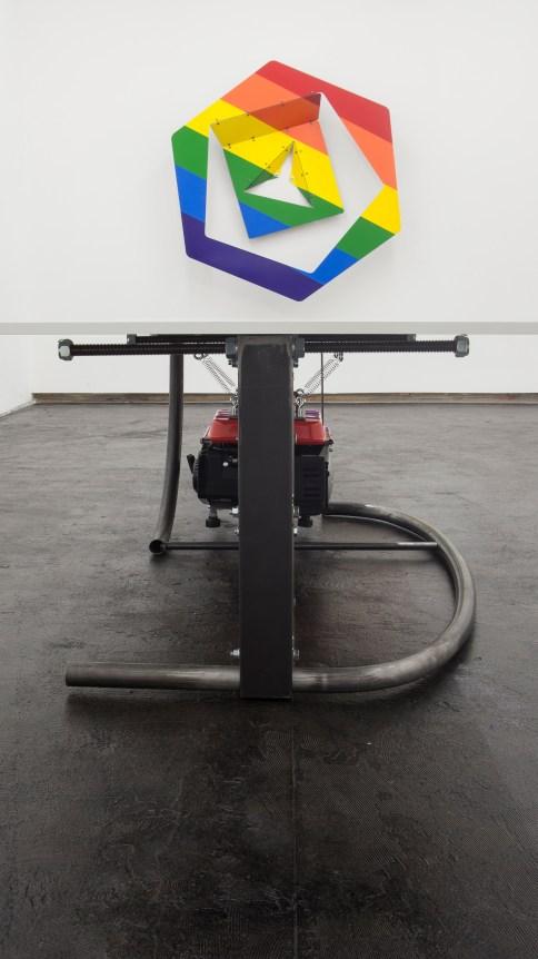 Jan Brož & Richard Nikl 'Je Suis SyMMetry', exhibition view, Nevan Contempo, Prague 2016, courtesy the artist, Nevan Contempo