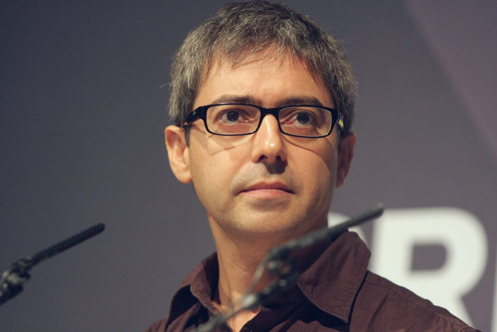 Ars Electronica 2011: MO, 05.09.: Prix Forum V - Interactive Art. Im Bild Alessandro Ludovico (IT). Foto: rubra