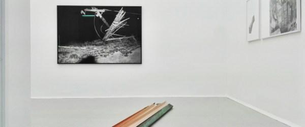Natalia Stachon exhibition Installation view Natalia STACHON | Metal Time KOENIG2 by_robbygreif, Vienna, 2016