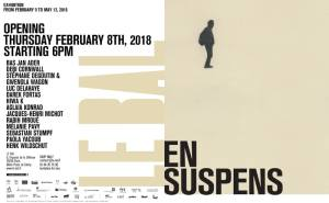 en suspense exhibition Darek Fortas