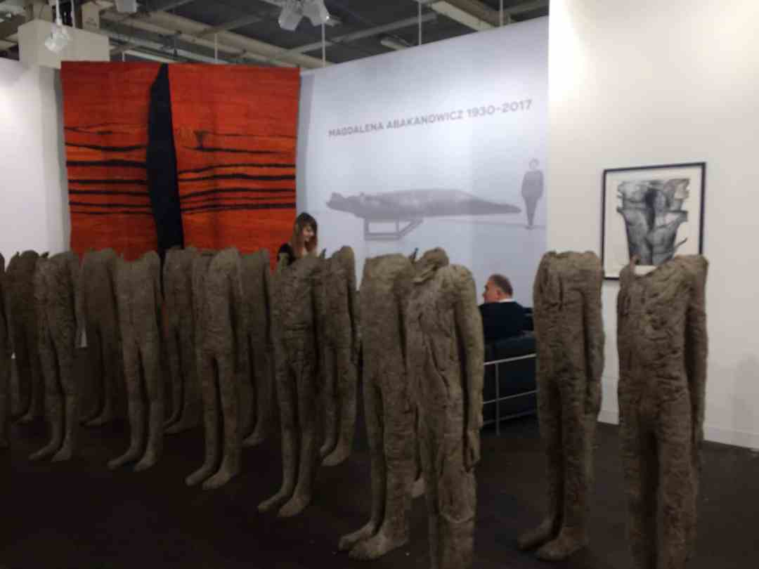 Magdalena Abakanowicz, Art Basel 2017, Photo Contemporary Lynx