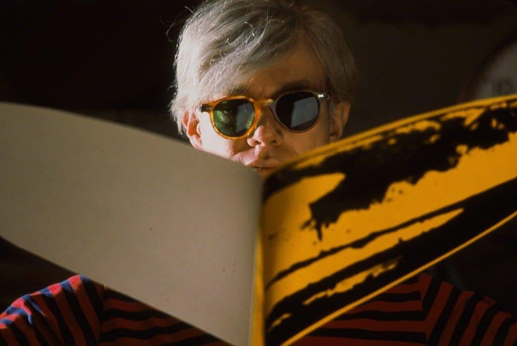 Hervé Gloaguen, Andy Warhol at the Factory, NY 1966, 1966, Galerie Arcturus