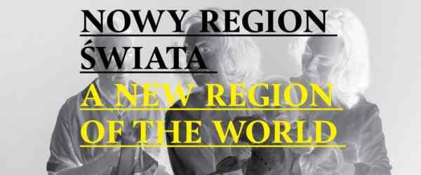 bunkier sztuki A New Region of the World