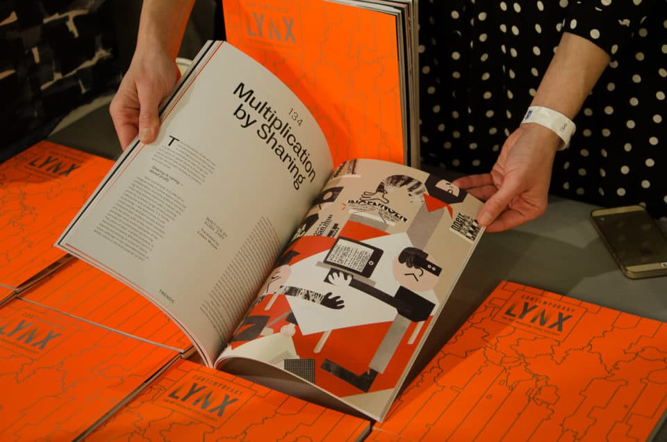 Niech żyje papier 4 Contemporary Lynx Magazine