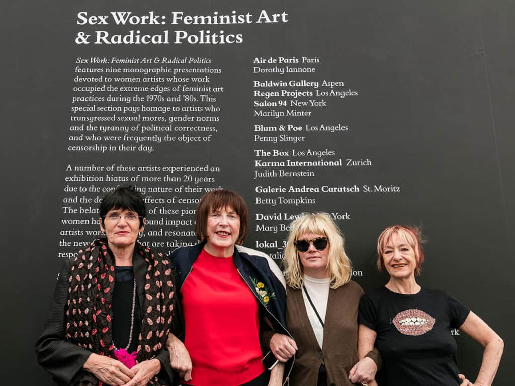 Sex Work, Frieze London 2017, Photo by Mark Blower. Courtesy of Mark BlowerFrieze.