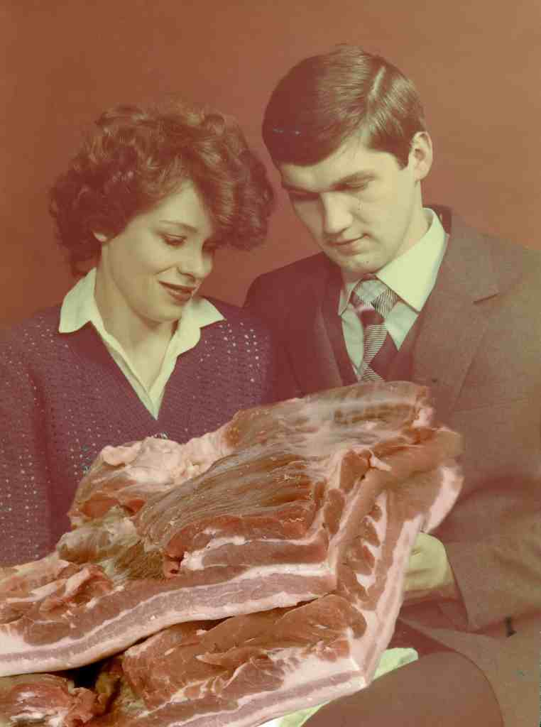 """Paulina Otylie Surys, He is only two weeks but nicely grows fat around the bones, """"Dreamatorium"""" series, 2017 - manipulated vernacular photograph"""