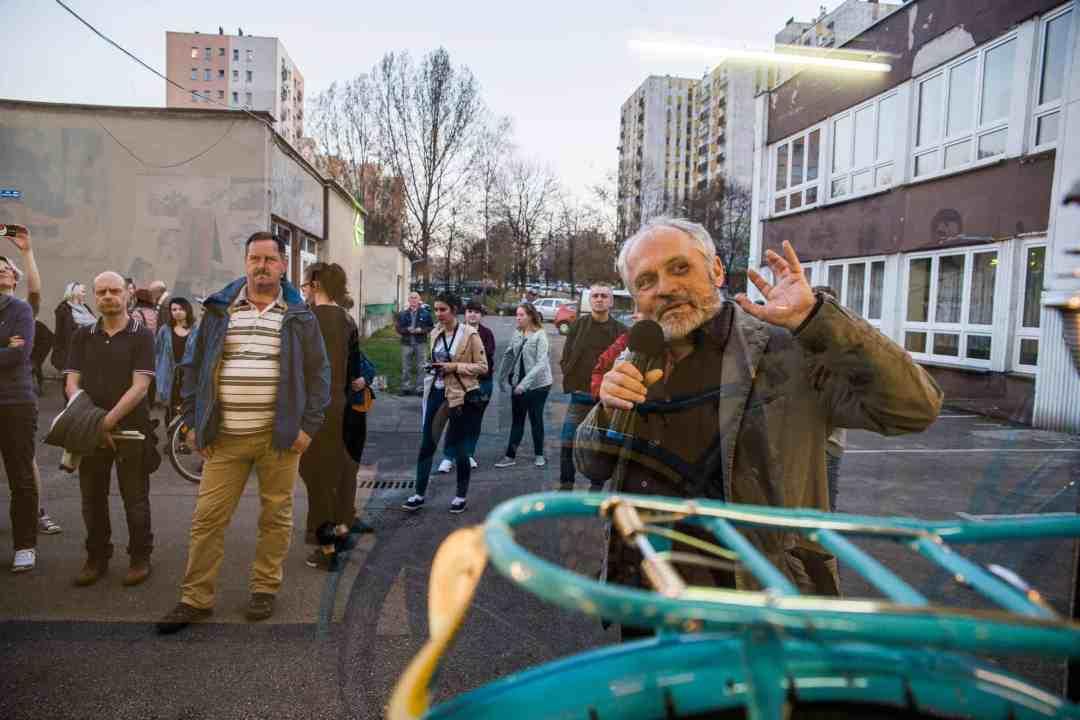 """Krzysztof Żwirblis, """"Social Museum"""", photo Davido"""