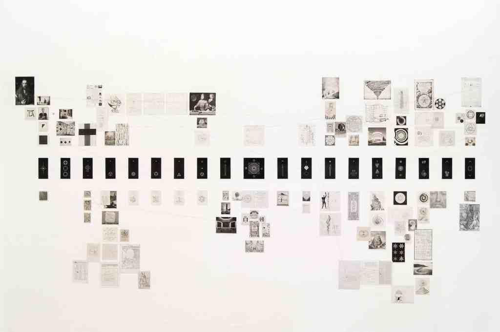 "Jakub Woynarowski, ""Characeristica Universalis. Picture Atlas"", installation view, Fondazione Memmo, Rome, 2017, photo: Jakub Woynarowski"