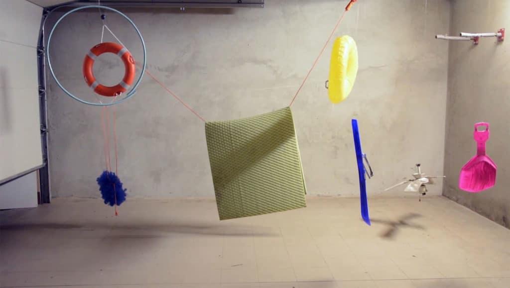 Marta Krześlak, A spatial composition, video, 2017
