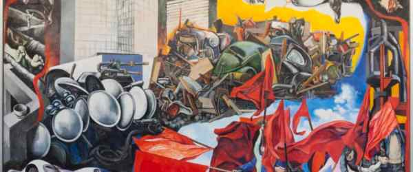 Guttuso Maggio flashes of the future exhibition