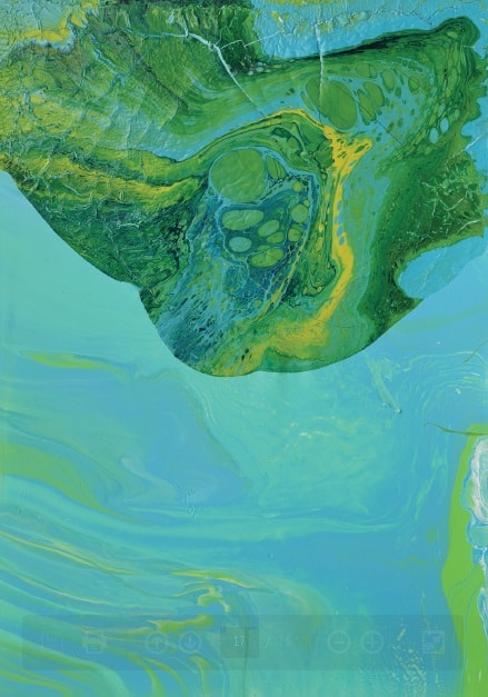 Izabela Chamczyk, alkidy, nitro painting on canvas