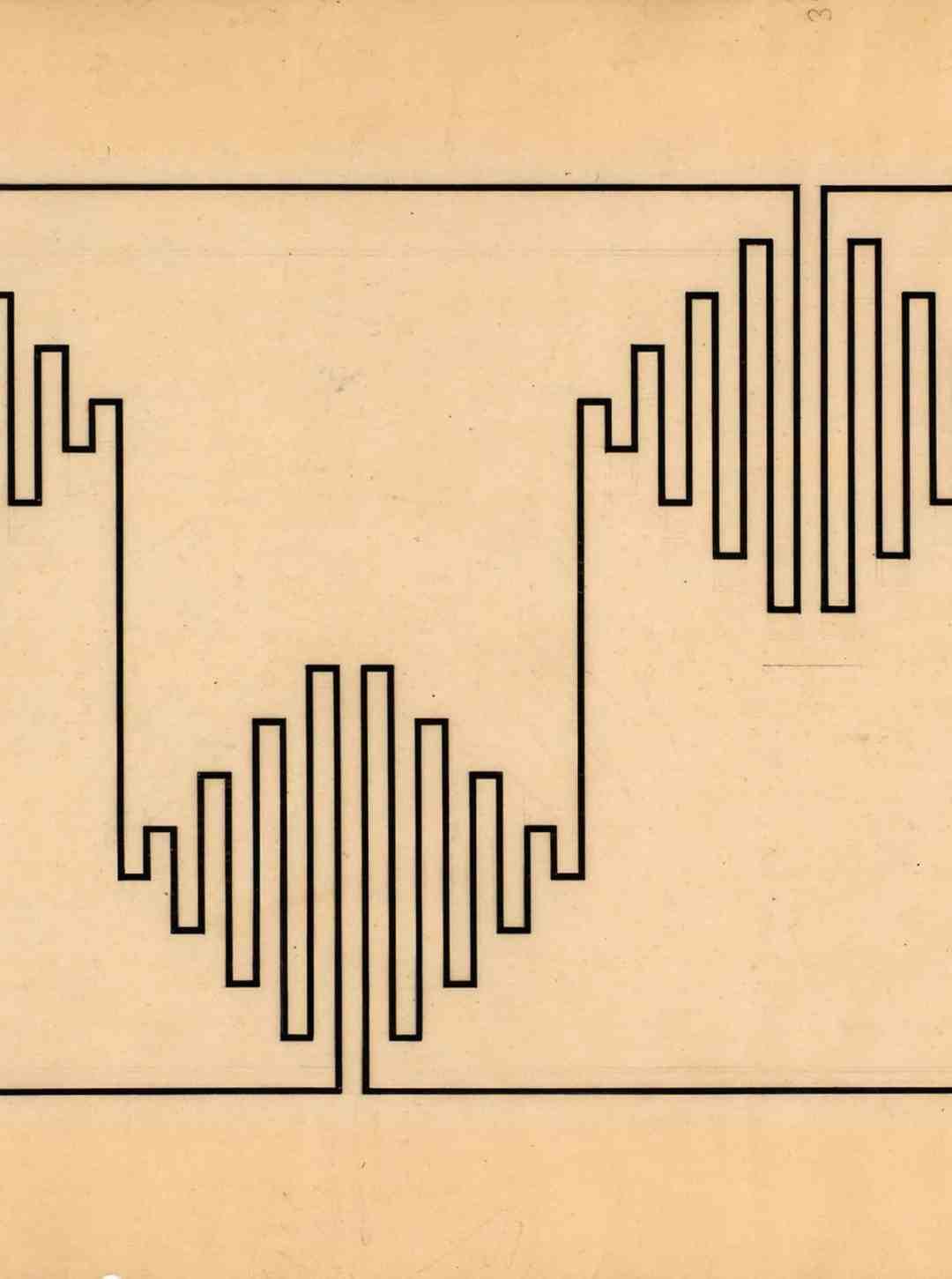 Wacław Szpakowski, A000000, 1927, ink on transparent paper, Galerie Berinson, detail.