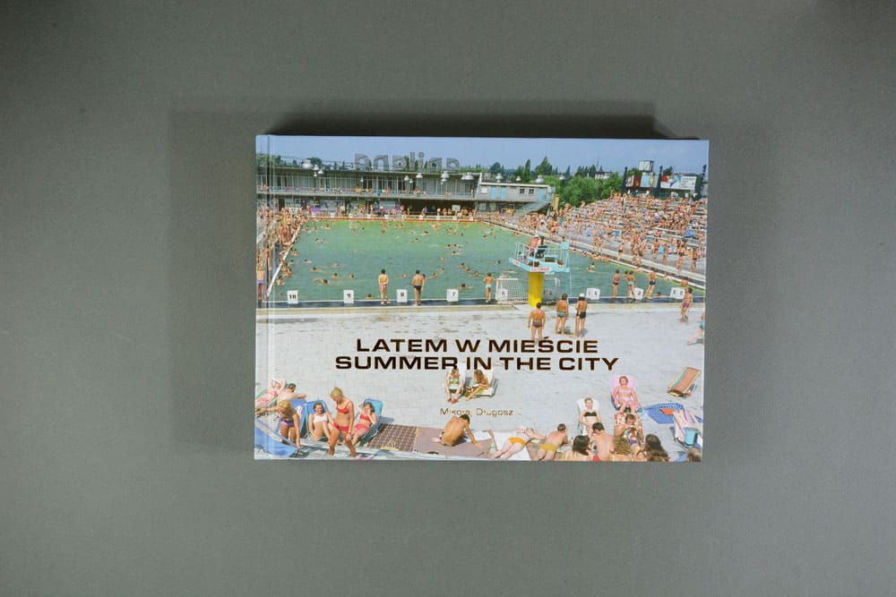 photobook on holiday summer in thye city