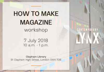 how to make a magazine london workshop