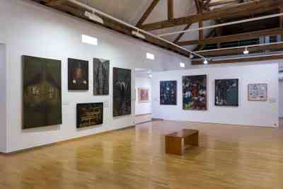 AbstrakcePL, Muzeum moderního umění Olomouc, Trojlodí, photo Zdeněk Sodoma (17)