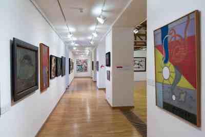 AbstrakcePL, Muzeum moderního umění Olomouc, Trojlodí, photo Zdeněk Sodoma (29)